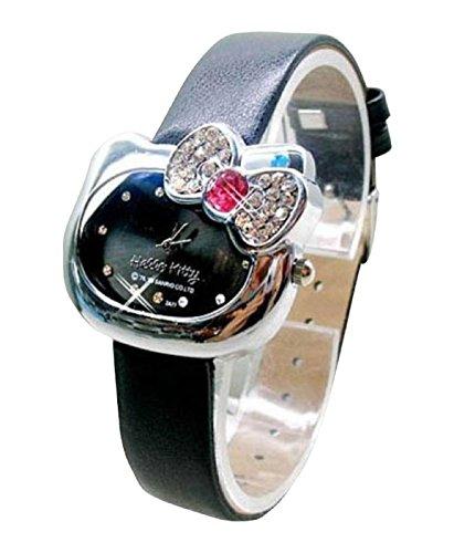 New Lovely Fashion Hello Kitty watches Girls Uhren M dchen Ladies Wrist Watch WKT KTWHK5B