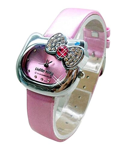 New Lovely Fashion Hello Kitty watches Girls Uhren M dchen Ladies Wrist Watch WKT KTWHK5P