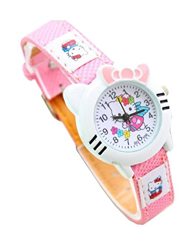 New Lovely Fashion Hello Kitty watches Girls Uhren M dchen Ladies Wrist Watch WP KTW151647P