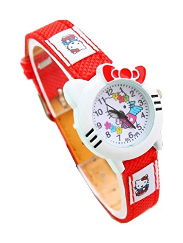 New Lovely Fashion Hello Kitty watches Girls Uhren M dchen Ladies Wrist Watch WP KTW151647R