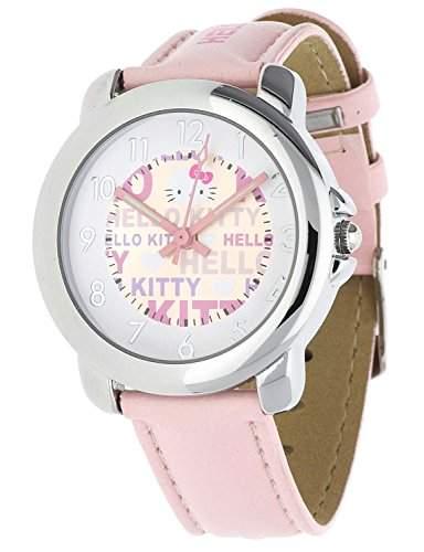 Hello Kitty Maedchen Armbanduhr Unagi rosa NLHK10022