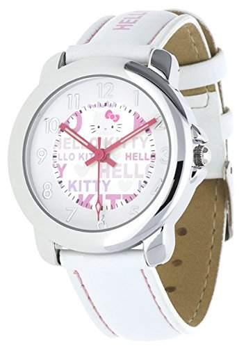 Hello Kitty Maedchen Armbanduhr Unagi weiss NLHK10023