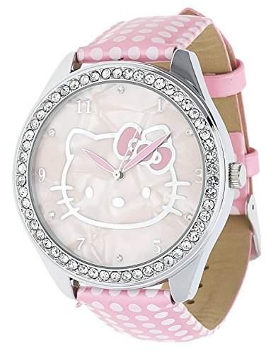 Hello Kitty Maedchen Armbanduhr rosa NLHK10038U