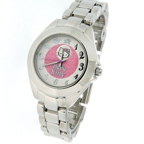 ORIGINAL HELLO KITTY GROWN UP KITTY UHR ZR26148
