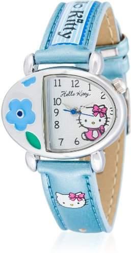 Hello Kitty Maedchen-Armbanduhr Satsuma Blue Analog Quarz Alloy HK5430-313