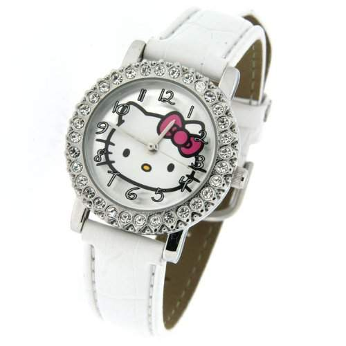 ORIGINAL HELLO KITTY SPARKLES UHR ZR24667