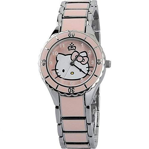 ORIGINAL HELLO KITTY ENAMEL CORONATION UHR ZR25616