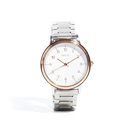 Parfois Uhr Double Bracelet Damen Groesse M Silber Multicolor