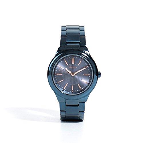 Parfois Uhr Metal Damen Groesse M Blau Escuro