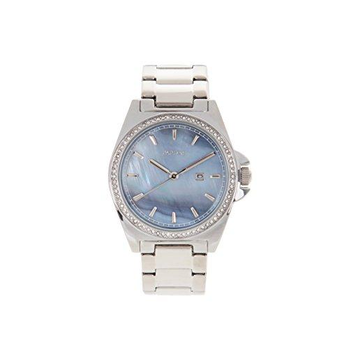 Parfois Uhr Metal Pearl Damen Groesse M Silber Multicolor