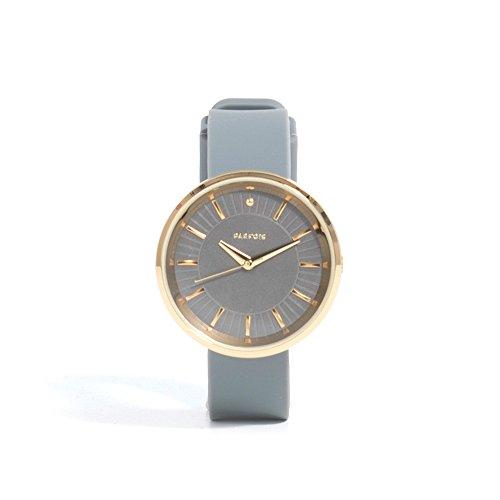 Parfois Uhr Rubber Damen Groesse M Grau Multicolor