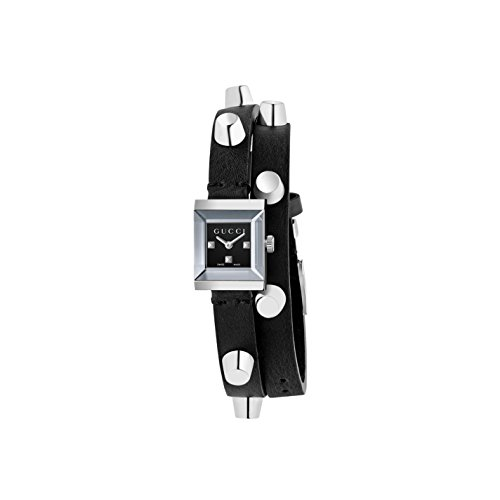 Gucci G Frame Analog Quarz Leder YA128520