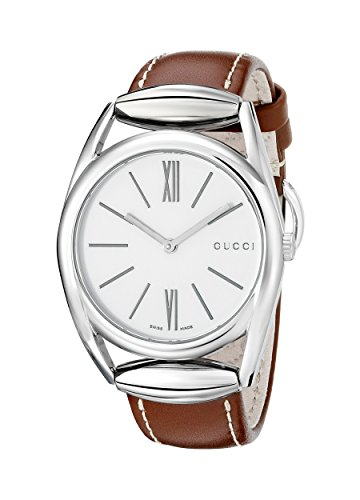 Gucci Horsebit Analog Quarz Leder YA140402