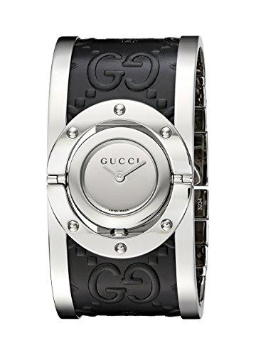Gucci TWIRL Analog Quarz verschiedene Materialien YA112441
