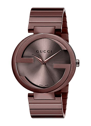 Gucci Unisex Armbanduhr G TIMELESS Analog Quarz Edelstahl beschichtet YA133317