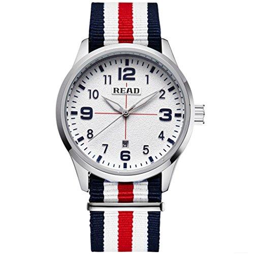 Lesen New Business Fashion Herren Quarz Uhren wasserabweisend Armbanduhren 2060