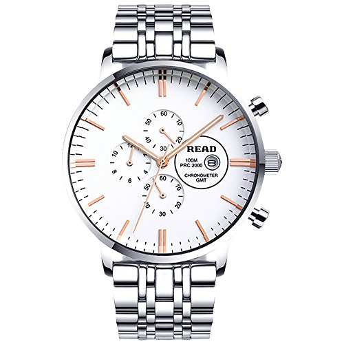 Lesen New Business Quarz Fashion wasserabweisend Armbanduhren R7006