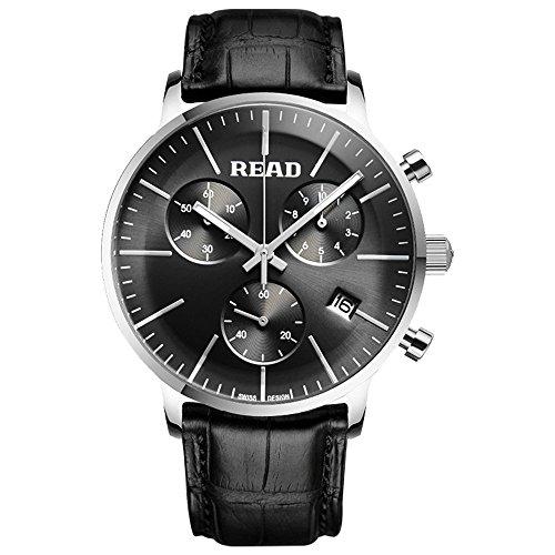 Lesen Fashion Quarz Sport wasserabweisend Handgelenk Uhren Multi Funktion Uhren r7080