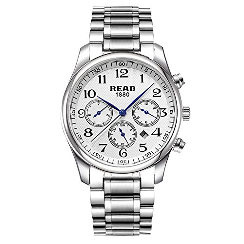 Lesen New Fashion Multifunktions Uhren wasserdicht Qartz Watch 6082