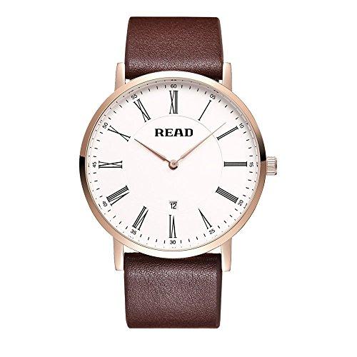 Lesen Quarz Fashion Handgelenk Uhren mit roemischen Zahl R2067