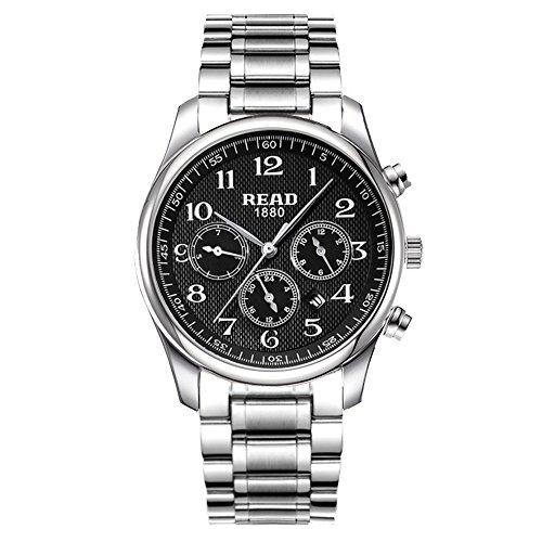 Lesen Multifunktions Sport Armbanduhr Mode Quarz Uhren R6082