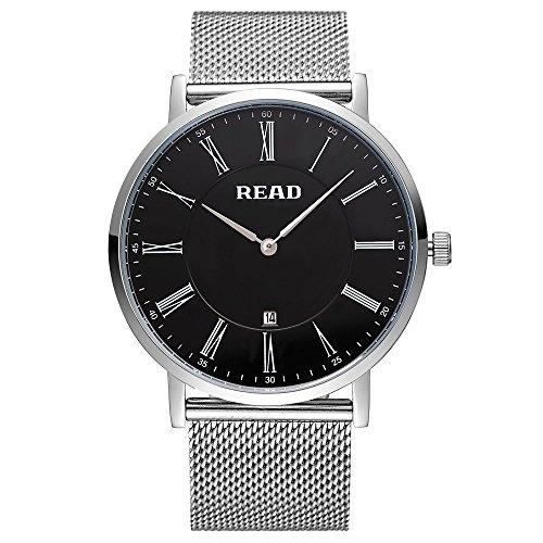 Lesen Herren Quarz Uhren Fashion Handgelenk Uhren R2067