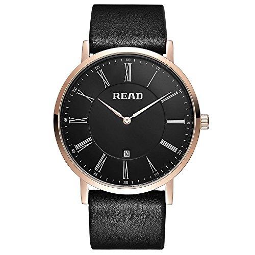 Lesen Quarz mit roemischen Zahl Fashion Handgelenk Uhren R2067