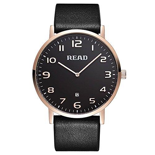 Lesen Quarz Fashion Armbanduhren R2067