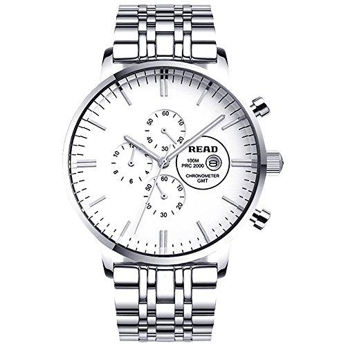 Lesen Neue Multifunktionale Business Quarz Fashion Wasserabweisende Armbanduhren R7006