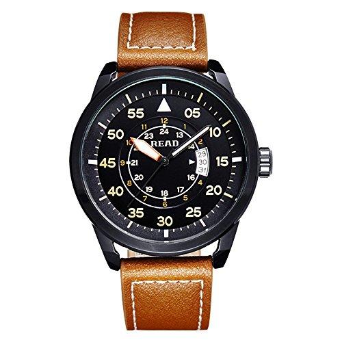 READ 2016 Neue Sport Uhren Geschaeftsleute Wasserdichte Uhr Qartz Armbanduhr 2062