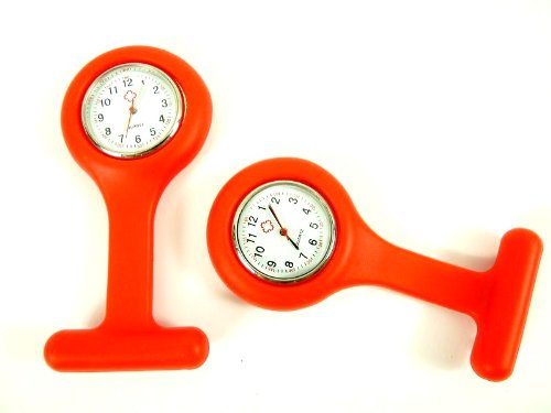 N B BU 84 Design Krankenschwester Uhr Rot