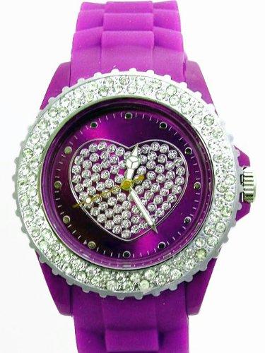 LOVE WATCH Armbanduhr LILA K223