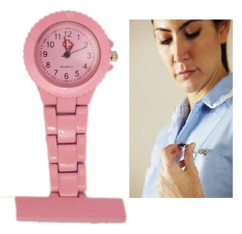 A70 Metall Krankenschwesteruhr Rosa