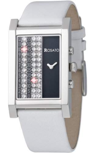 ROSATO LED-DAMENARMBANDUHR MATRIX NOVA WHITE, R637