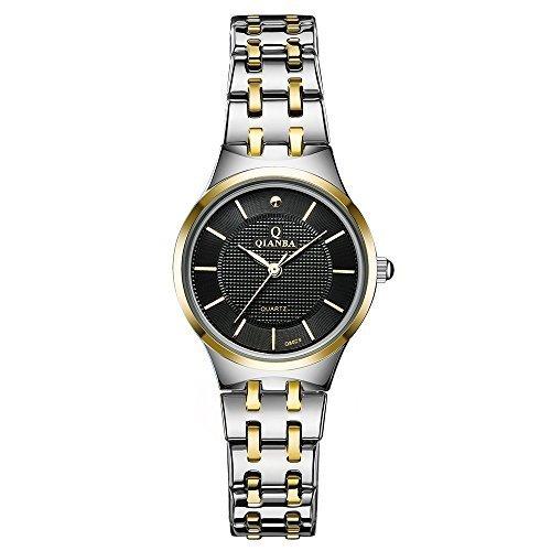 qianba Q8029 2BG 2016 Top Damen Luxus Marke Uhr Quarz Wasserdicht Handgelenk Uhren Edelstahl casual fashion Business Kleid Uhren
