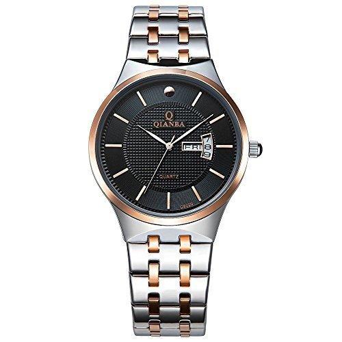 qianba q8029mbr 2016 Top Herren Luxus Marke Display Tag Datum Sport Quarz Armbanduhr Wasserdicht Handgelenk Uhren Edelstahl casual fashion Business Kleid Uhren