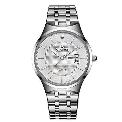 qianba q8029mwh 2016 Top Herren Luxus Marke Display Tag Datum Sport Wasserdicht Handgelenk Uhren Edelstahl casual fashion Business Kleid Uhren