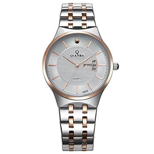 qianba q8029mwr 2016 Top Herren Luxus Marke Display Tag Datum Sport Quarz Armbanduhr Wasserdicht Handgelenk Uhren Edelstahl casual fashion Business Kleid Uhren