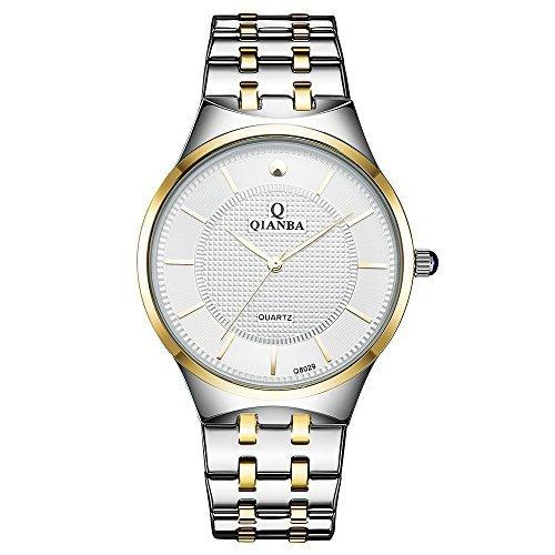 qianba q8029wg2 2016 Top Herren Luxus Marke Sport Quarz Armbanduhr Wasserdicht Handgelenk Uhren Edelstahl Band Casual Fashion Business Kleid Uhren
