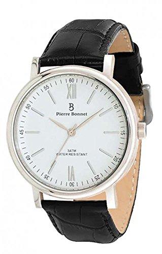 Uhr Herren Pierre Bonnet 9005 Leder