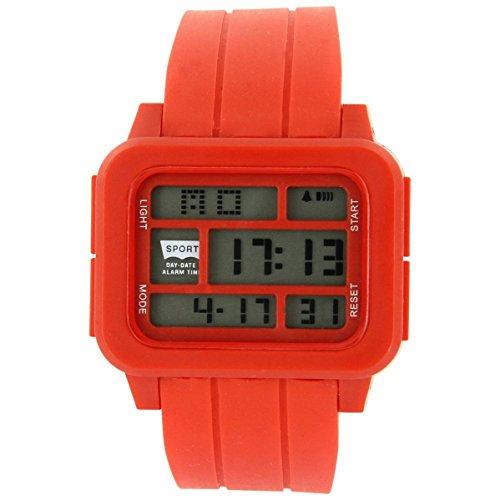Uhren Sport Sport Trend Silikon Rot 2390