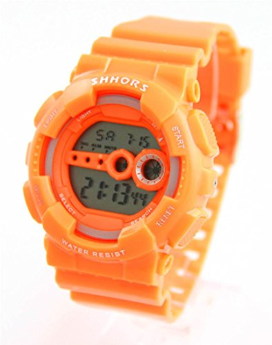 Zeigt Herren fuer Sport Silikon Orange 1063