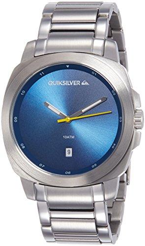 Quiksilver Herren Qs 1005blsv die Sovereign Datum Funktion silberfarbenes Armband Armbanduhr