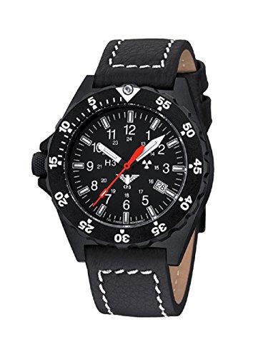 KHS Shooter KHS SH LBB Lederband Bueffelleder inkl Watch Glass Protection Schutzfolie