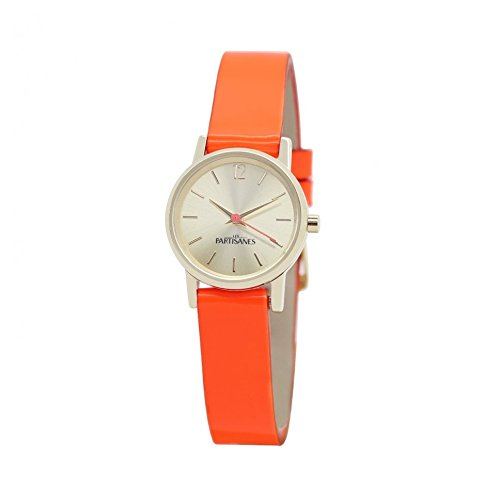 Les Partisanes Analog Quartz Leder Orange INS009