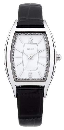 OASIS Damen-Armbanduhr Analog Quarz Leder B1350