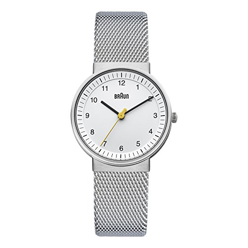 Braun Unisex Ladies Classic Watch Analog Quarz BN0031WHSLMHL