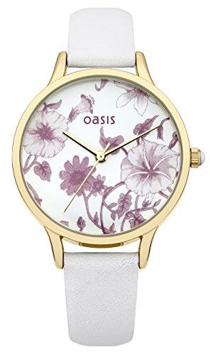 OASIS Damen Armbanduhr Analog Quarz Leder B1478