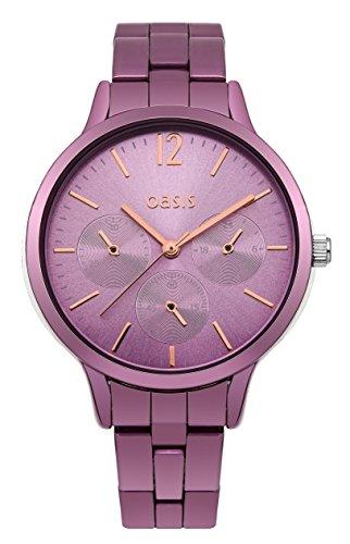 Oasis Damen Armbanduhr Analog Quarz B1535