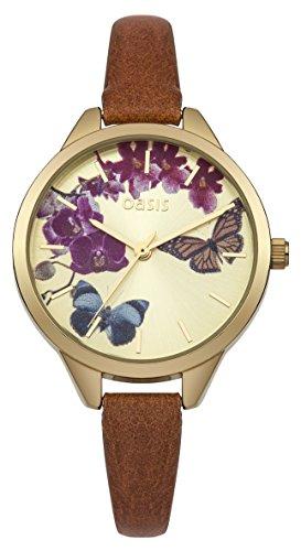 Oasis Damen Armbanduhr Analog Quarz B1540